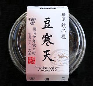 横濱銚子屋 豆寒天 160g